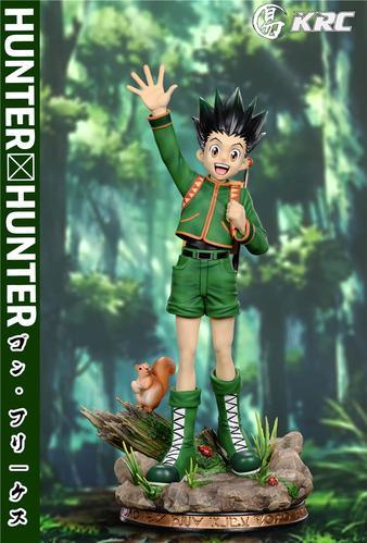 【预订】魔宅gk 易 krc 全职猎人系列 小杰 hunter 雕像手办