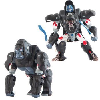 变形玩具金刚transart toys超能勇士bw野兽之战ta黑猩猩队长初代 ta小