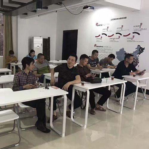 员工培训桌长条桌培训桌椅会议桌中小学生辅导桌单双人组合课桌椅