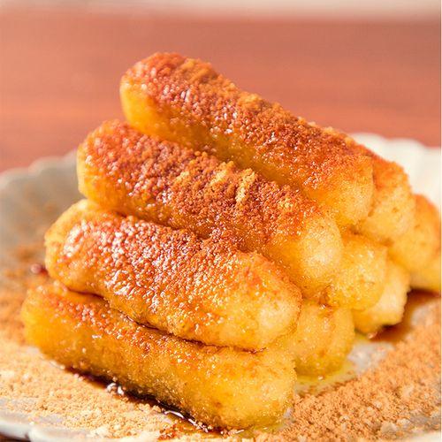 红糖糍粑半成品 手工糯米糍粑火锅店用糍粑甜点油炸年糕条900