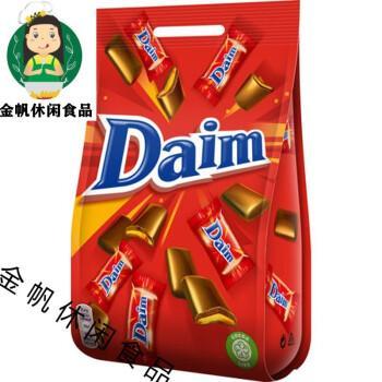 现货瑞典进口daim巧克力系列糖果代姆脆心焦糖扁桃仁结婚喜糖 经典200