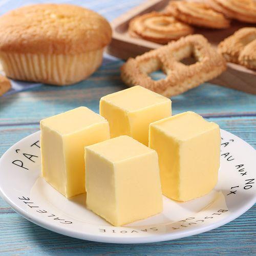 植物家用烘焙材料无盐食用黄油奶油做蛋糕面包饼干