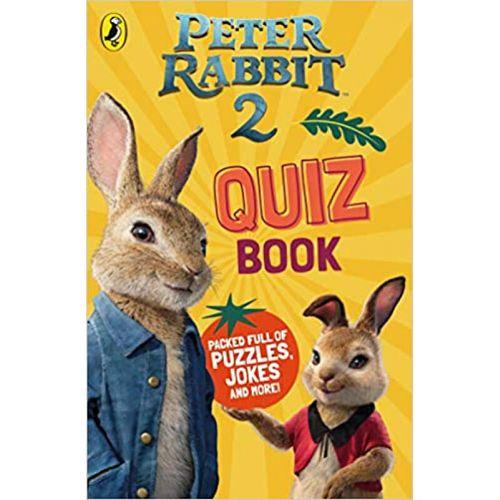 现货英文原版  peter rabbit movie 2 quiz book彼得兔电影2小测验