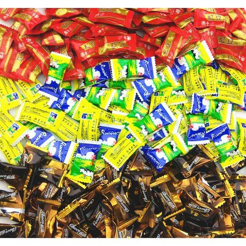 【严选好物】鲜奶糖童年怀旧孺牛奶糖一份500克嚼出回忆糖果零食品