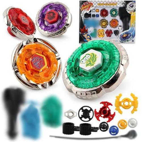 包邮热款 星座合金组装战斗陀螺玩具4个爆旋陀螺钢铁战魂套装