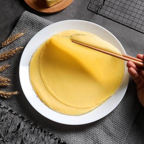 千层蛋糕饼皮欧福材料蛋皮千层蛋糕皮 榴莲芒果班戟皮