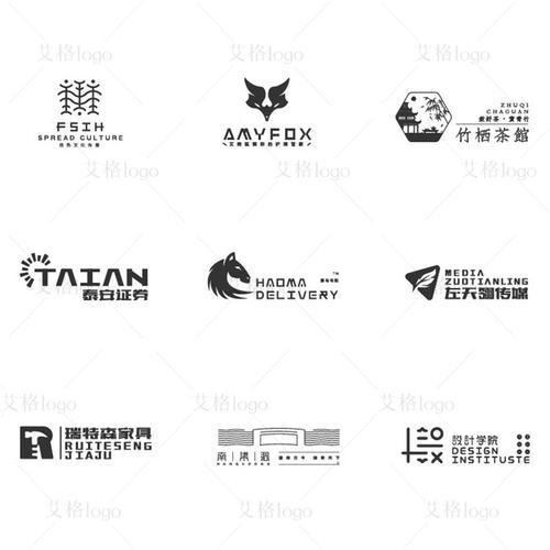 健身房瑜伽馆logo设计创意品牌vi全案设计商标公司企业图标志定制