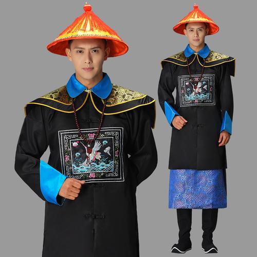 清朝大臣古装服装中堂影视剧一品文武官员服侍卫服装