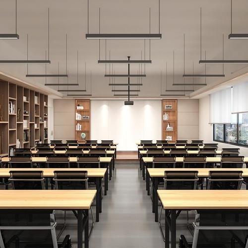 职员电脑沈阳办公培训简易桌户外便携长条学习会议桌
