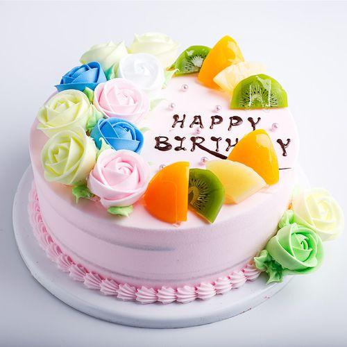 仟悦仿真奶油水果欧式水果蛋糕模型新款网红创意生日