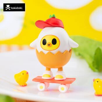 tokidoki淘奇多奇牛奶早餐系列第二季盲盒手办潮玩迷你公仔玩偶