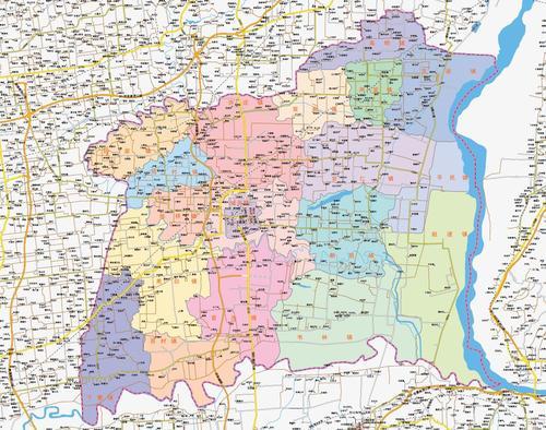 海口三亚市地图五指山琼海文昌万宁东方定安县临高白沙三沙市