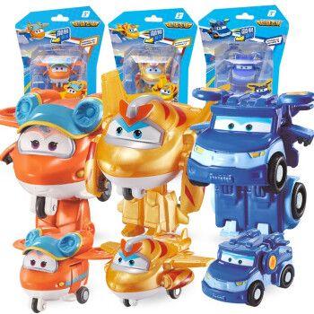 奥迪双钻 超级飞侠玩具第9季变形玩具超级装备变形套装机器人 第9季
