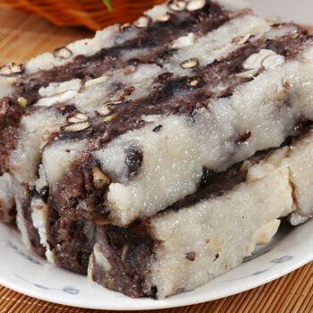 赤豆猪油松糕赤豆糕苏州特产葑门传统糕点点心糕团年货美食 400g