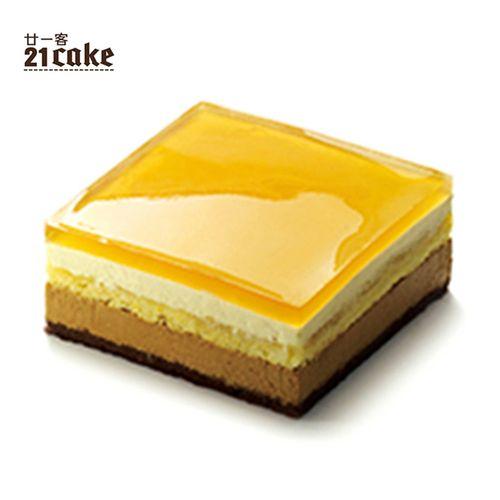 廿一客(21cake)爱尔兰咖啡风味生日蛋糕1磅