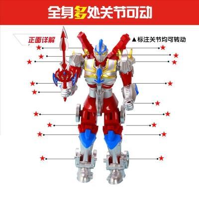 新款 奥特曼儿童变形机器人3变小孩4-5-6-7岁男孩男童