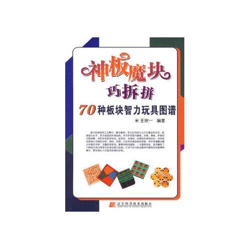 神板魔块巧拆拼:70种板块智力玩具图谱 王宗一著 9787538159677 辽宁