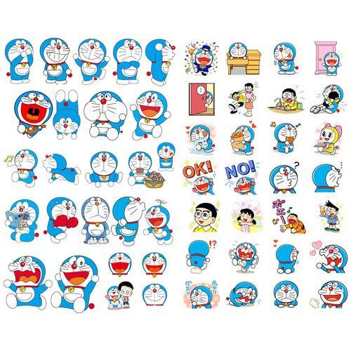 【已裁剪】多啦a梦动漫人物儿童可爱卡通表情包手账