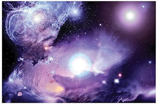 jp london papm2096 无溶剂海报艺术印刷品 可装框宇宙银河星紫色星云