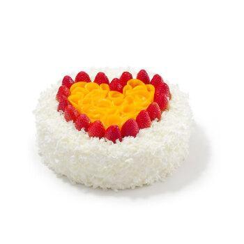 好利来美满心愿30cm酸奶提子夹心口味生日蛋糕仅限
