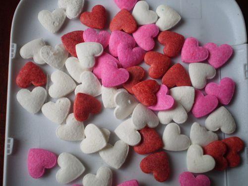 小心红粉白 浪漫蛋糕点装裱diy装饰烘焙彩糖原料奶油裱花翻糖500g