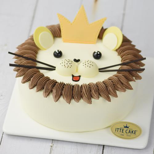【狮子王】酸奶奶油 动物造型卡通蛋糕