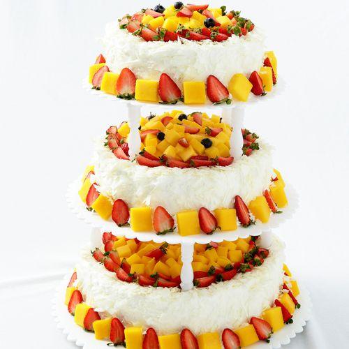 【年会庆典蛋糕】步步高升-约15磅(3层),原1389元,现仅需888元,适合30