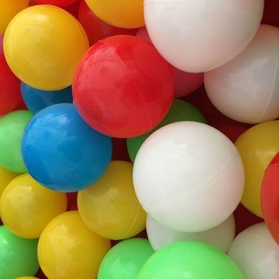 小孩彩色球围栏毒1-2周岁宝宝波波球儿童海洋球玩具球