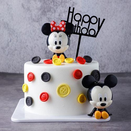 米老鼠生日蛋糕模型仿真2021新款网红塑胶假蛋糕样品