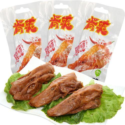 肯爽卤味香辣鸭头32g真空包装麻辣肉类熟食即食小吃