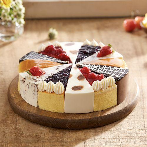 六味臻享,轻焙芝士,精研慕斯丝滑(共12块)(重庆幸福西饼蛋糕)