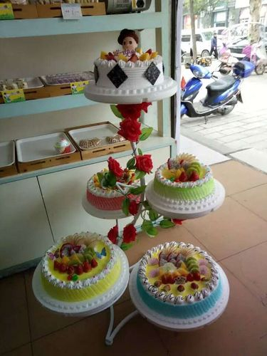 欧式新款多层蛋糕展示架 创意多款式六层八层生日蛋糕