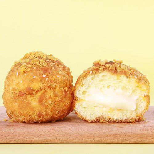 海苔肉松小贝网红零食小吃蛋糕早餐爆浆面包奶油小心