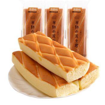 芝士蛋糕吐司面包炼奶三明治切片吐司早餐面包 岩烧芝士-800g/箱
