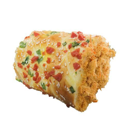葱香鸡蛋肉松面包 160g 爆浆奶油沙拉酱夹心 毛巾卷学生早餐蛋糕香辣