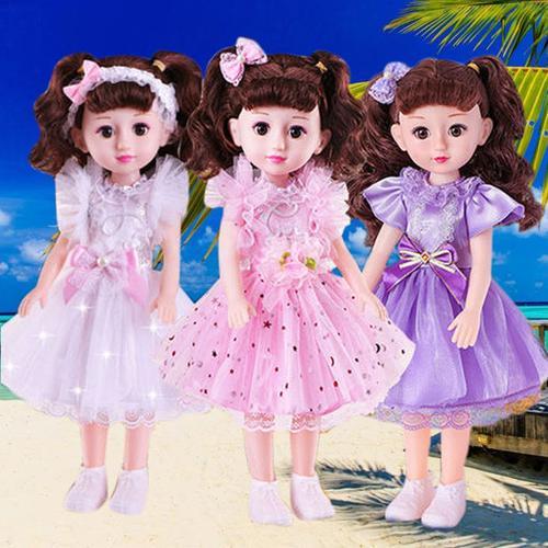 会说话的芭比娃娃套装小女孩婴儿童玩具智能仿真洋