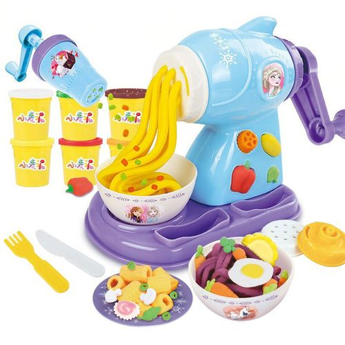 迪士尼橡皮泥彩泥儿童手工diy模具套装做蛋糕玩具幼儿