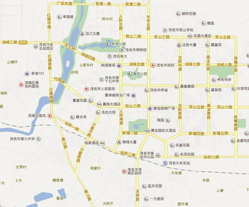 广东廉江市地图徐闻麻章遂溪白电高州化州信宜广宁