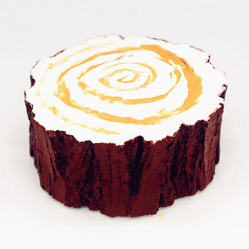 树桩实心慕斯蛋糕模具烘培模具硅胶模具c1190