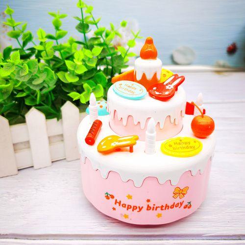 生日蛋糕家家生日快乐歌宝宝唱儿童女孩小男礼物生日