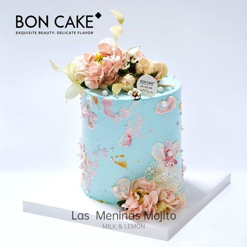 boncake 小宫娥莫吉托 网红生日蛋糕 5寸加高版