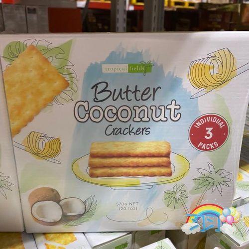山姆购泰国进口特皮菲德黄油椰干饼干570g*2下午茶点浓郁椰香酥脆