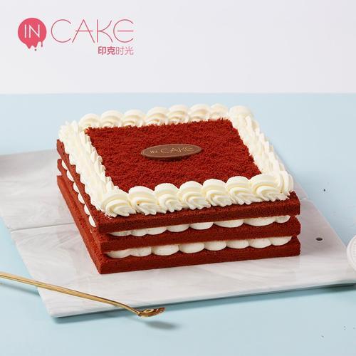 【味】incake经典红丝绒生日蛋糕网红创意映悦动物