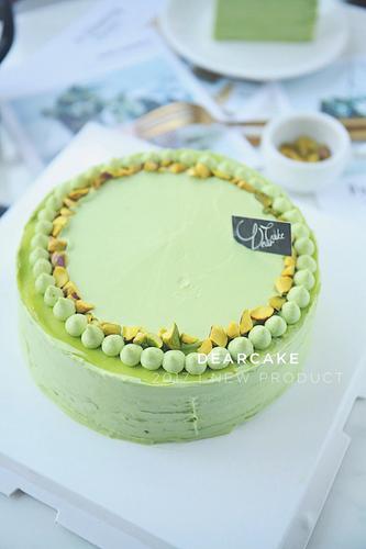 【0516】好吃到炸裂的开心果千层蛋糕-请务必提前48
