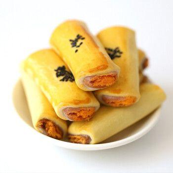 500g精选咸蛋黄酥卷营养早餐代餐面包糕肉松卷点心多口味网红小吃整箱