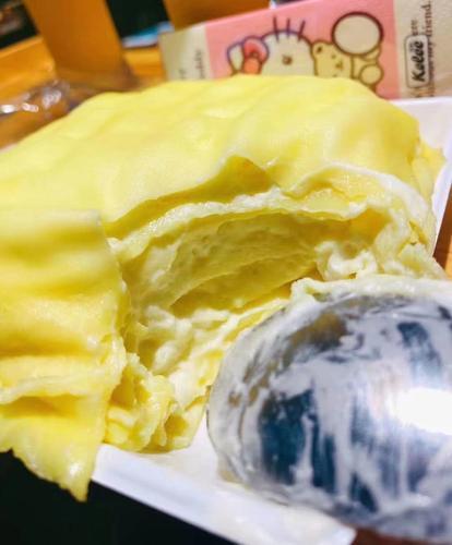 四季暖阳榴莲千层蛋糕 1个