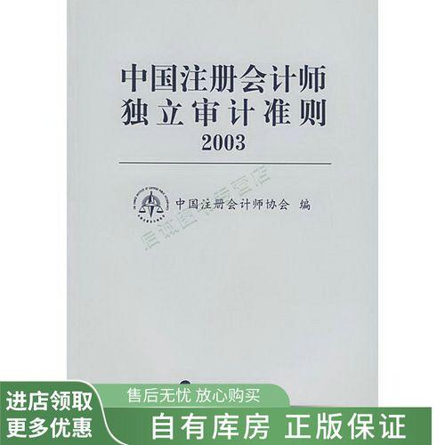 中国注册会计师审计准则·2003