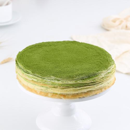 法式抹茶千层蛋糕(顺丰)