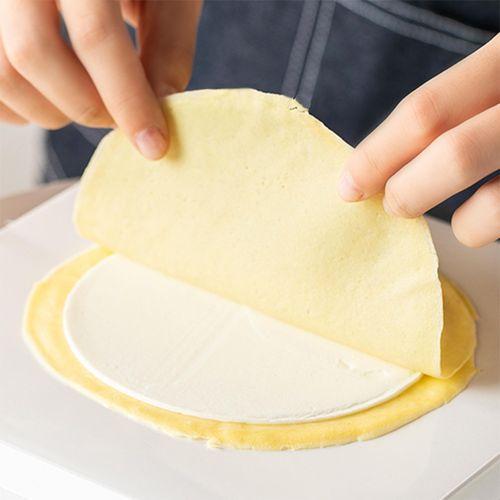 千层皮 家用千层蛋糕皮6/8寸班戟皮薄即食半成品毛巾