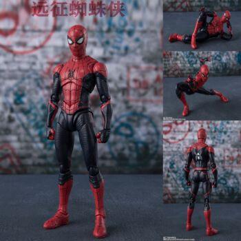 钢铁蜘蛛侠英雄远征玩具模型复联4人偶ps4游戏玩偶公仔抖音网红 远征